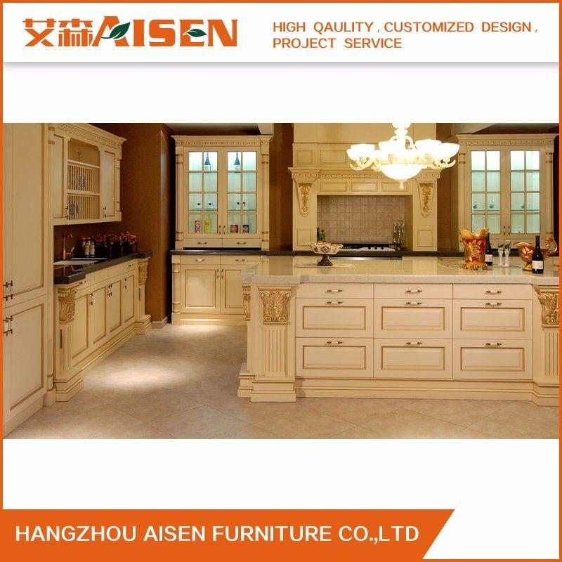 American Standard Luxury Classic Oak Solid Wood kitchen ...