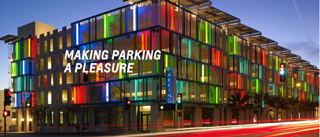 4 parking garages show innovation in technology and