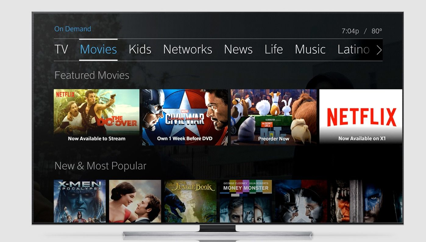 Comcasts latest allyoucanwatch event includes netflix