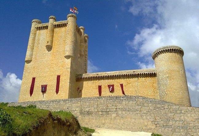 Castillo de Torrelobaton.Valladolid Spain.