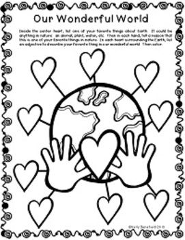 earth day activities earth day activitiesteaching resourcesteaching ideaslandthird gradethe handlanguage artsrecyclingcoloring pages - Language Arts Coloring Pages