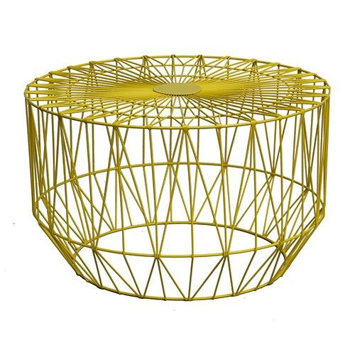 Nice wire coffee table in yellow images electrical circuit cool wire coffee table in yellow ideas electrical circuit greentooth Image collections