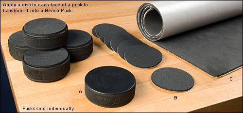 Bench Pucks Woodworking These Are The Hockey Pucks Trish Is