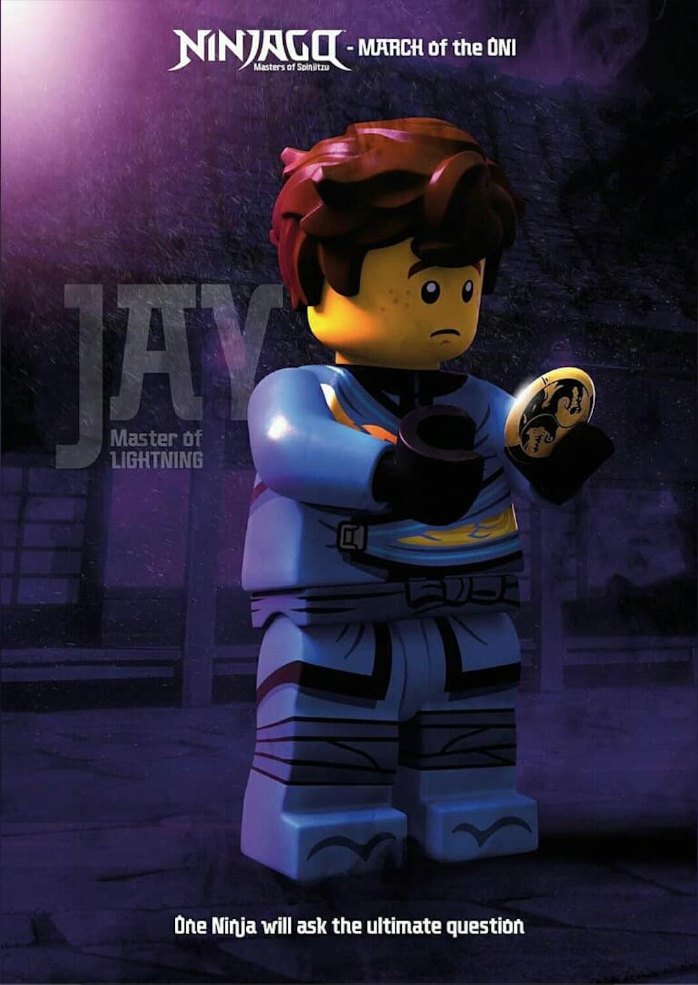 Jay Ninjago Lego Ninjago Ninjago