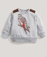 Boys Bird Sweater at Mamas & Papas