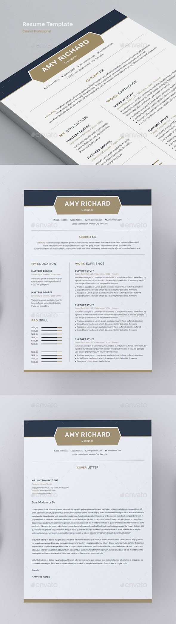 Resume Resumes Stationery Resume design template