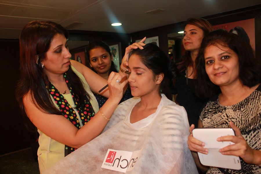 #Makeup trainings conducted at Enrich in #Bandra Academy