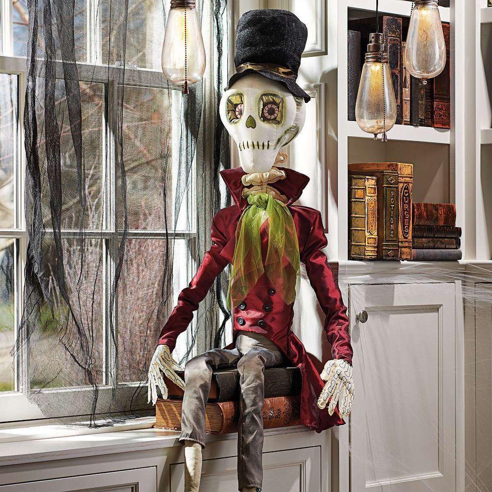 Joe Spencer Spooky Ghost Halloween Ornament by Gallarie II