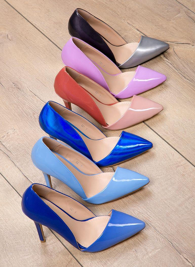 Szpilki Asymetric Pink High Heels W Deezee Pl Pink High Heels Heels Nice Shoes