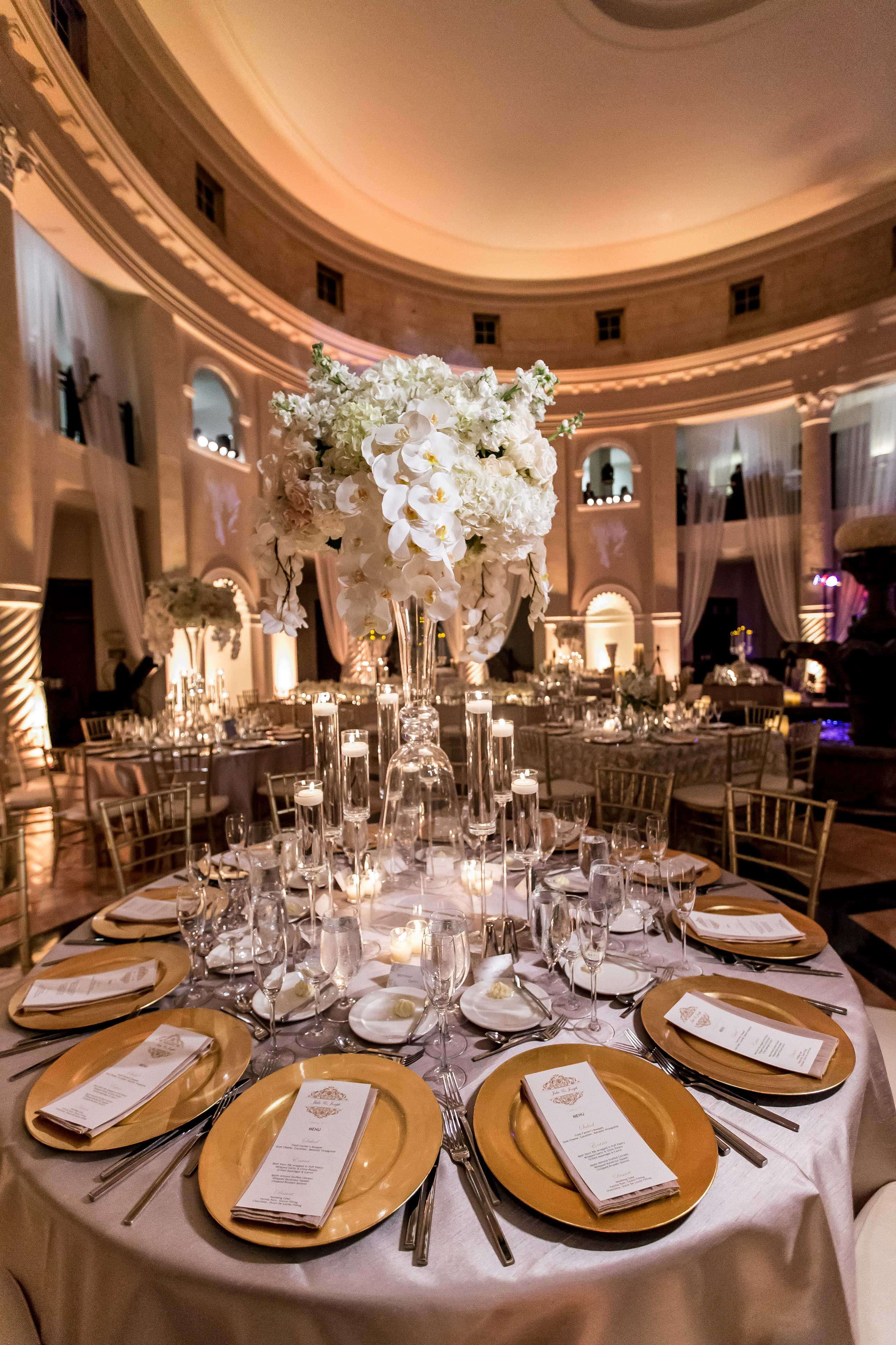 Romantic Wedding With Ivory Champagne Amp Gold Palette In