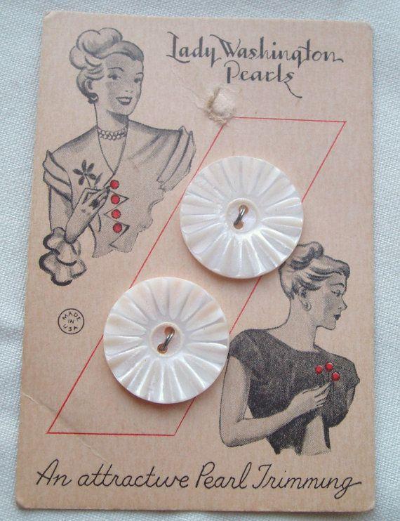 < ButtonShop.ca > button card } lady washington