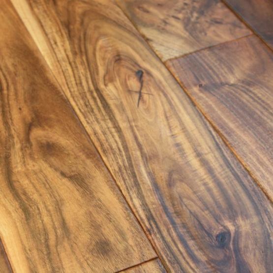 Acacia Natural 9 16 X 4 3 Hand Sed Small Leaf Engineered Hardwood Flooring