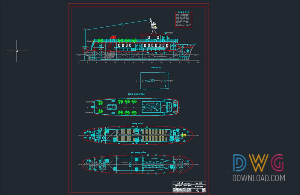 Dwg Download General Layout Passenger Ships (con immagini