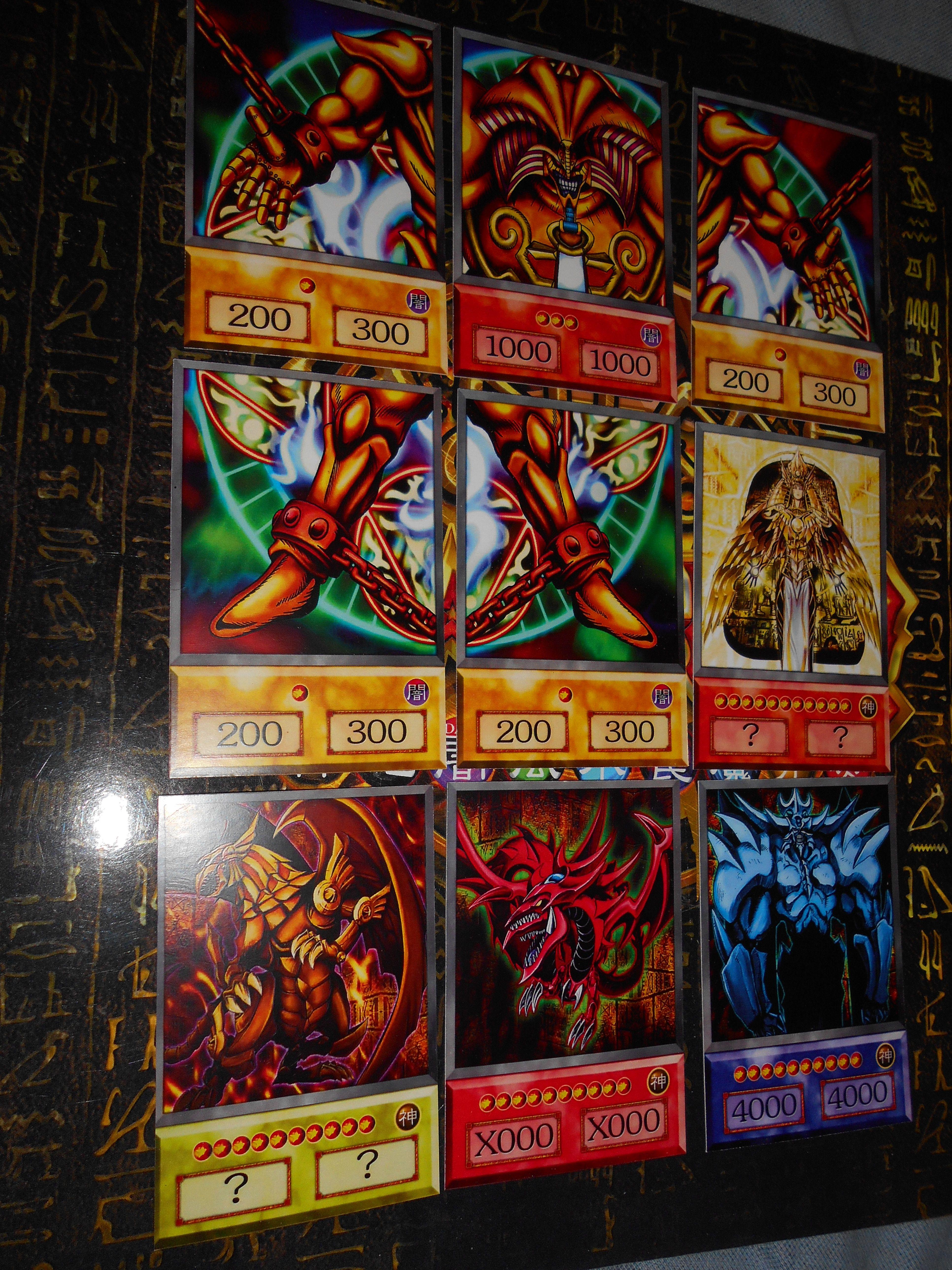 Exodia and egyptian gods anime orica etsy yugioh cool
