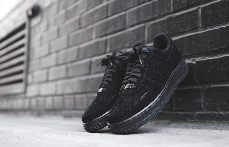 shoes black shoes nike air force 1 suede shoes nike shoes