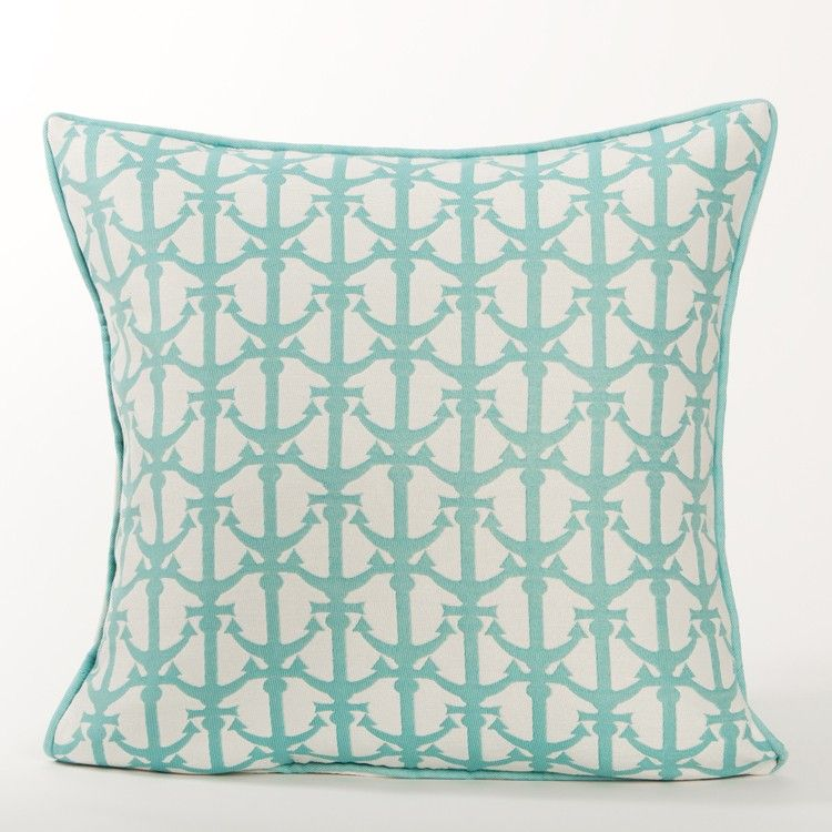 Drop Anchors Pillow / Baltic | Indoor / Outdoor Pillows |New Arrivals! |  Karen