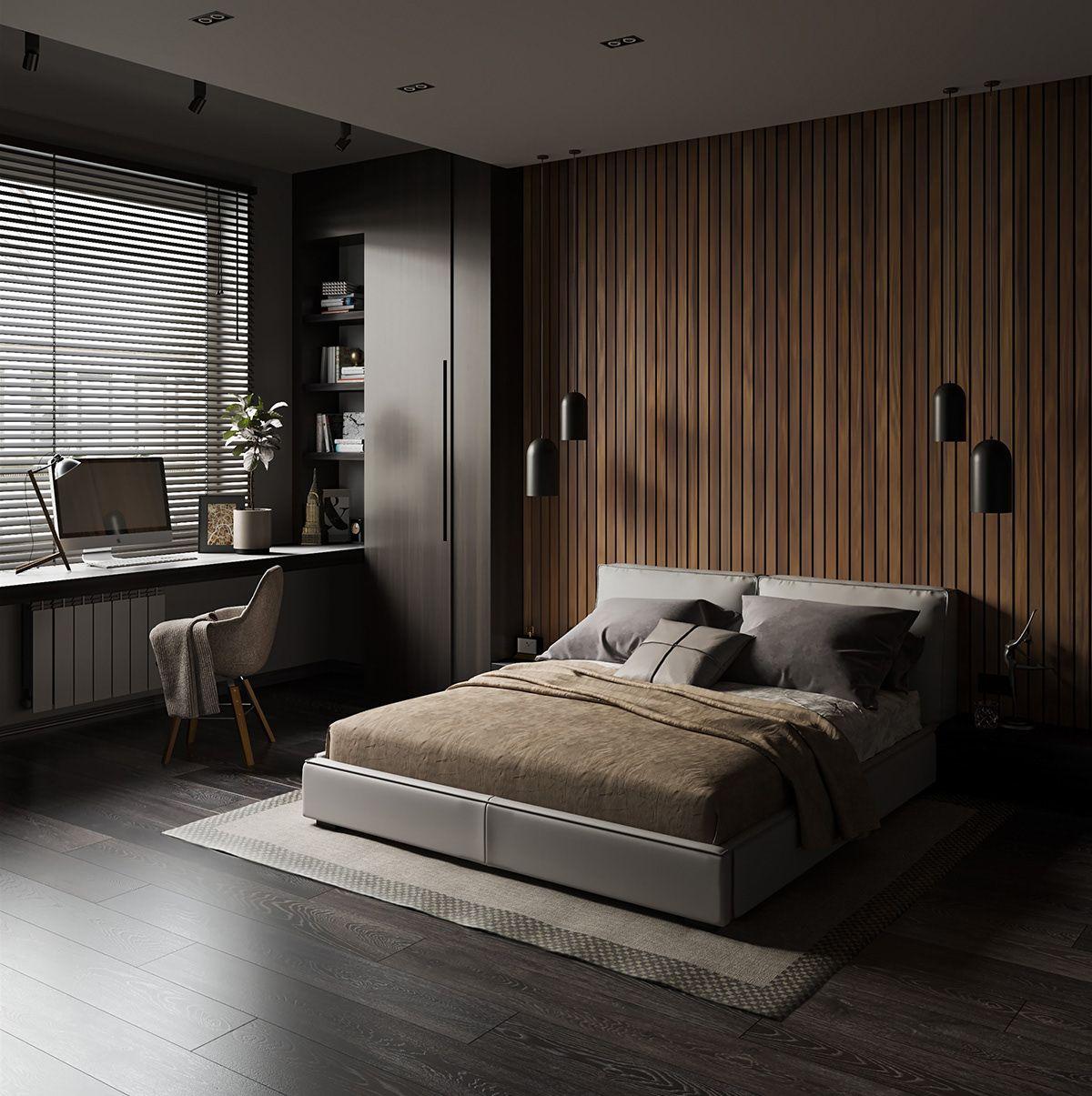 Interior Design Bedroom On Behance Bedroom Interior Design Modern Interior Design Bedroom Luxury Bedroom Master