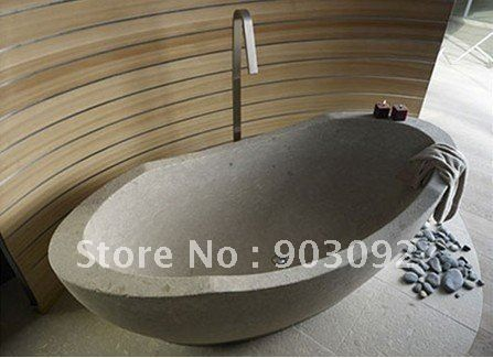 Top Selling Luxury Natural Stone Bath Tubs Terrazzo Bathtub Freestanding CustomizedChina Mainland