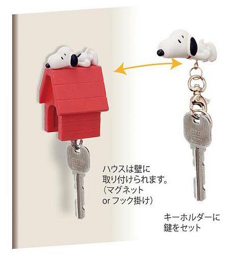 可愛又實用的創意小物!史努比鑰匙小屋 | 玩具人Toy People News