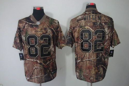Nike Dallas Cowboys  82 Jason Witten Realtree Camo Elite Jersey ... 6d8af8cd6