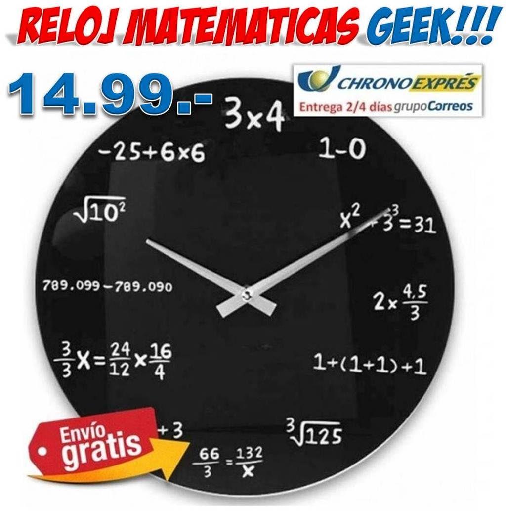 reloj #original #geek #regalos #decoracion #hogar #friki Original ...