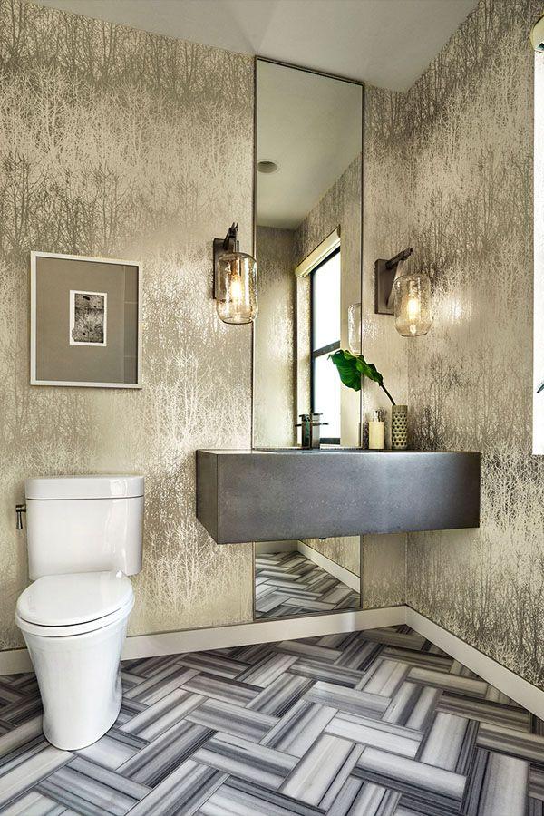 تصاميم حمامات بسيطة حمامات عصرية تصاميم حمامات مودرن حمامات صغيرة حمامات داخل غرف النوم ديكورات أ Powder Room Decor Modern Powder Rooms Simple Bathroom Designs