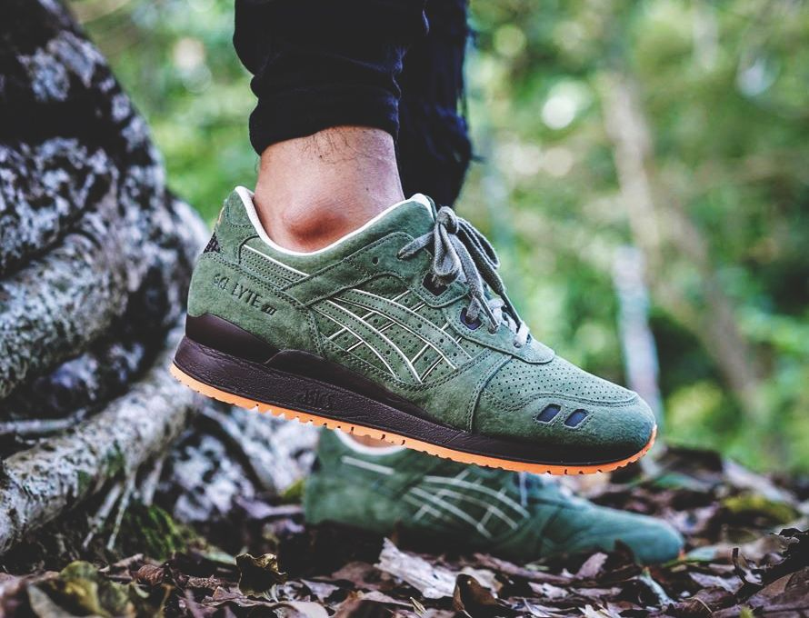 official photos 8ff4e 91218 Ronnie Fieg x Asics Gel Lyte 3 Militia Initiative - 2016 (by ...