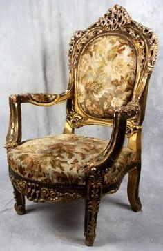 French Baroque Chairs Were More Comfortable Then Gothic Chairs Because They  Had Built In Cushions With Properly Placed Arm Rests.