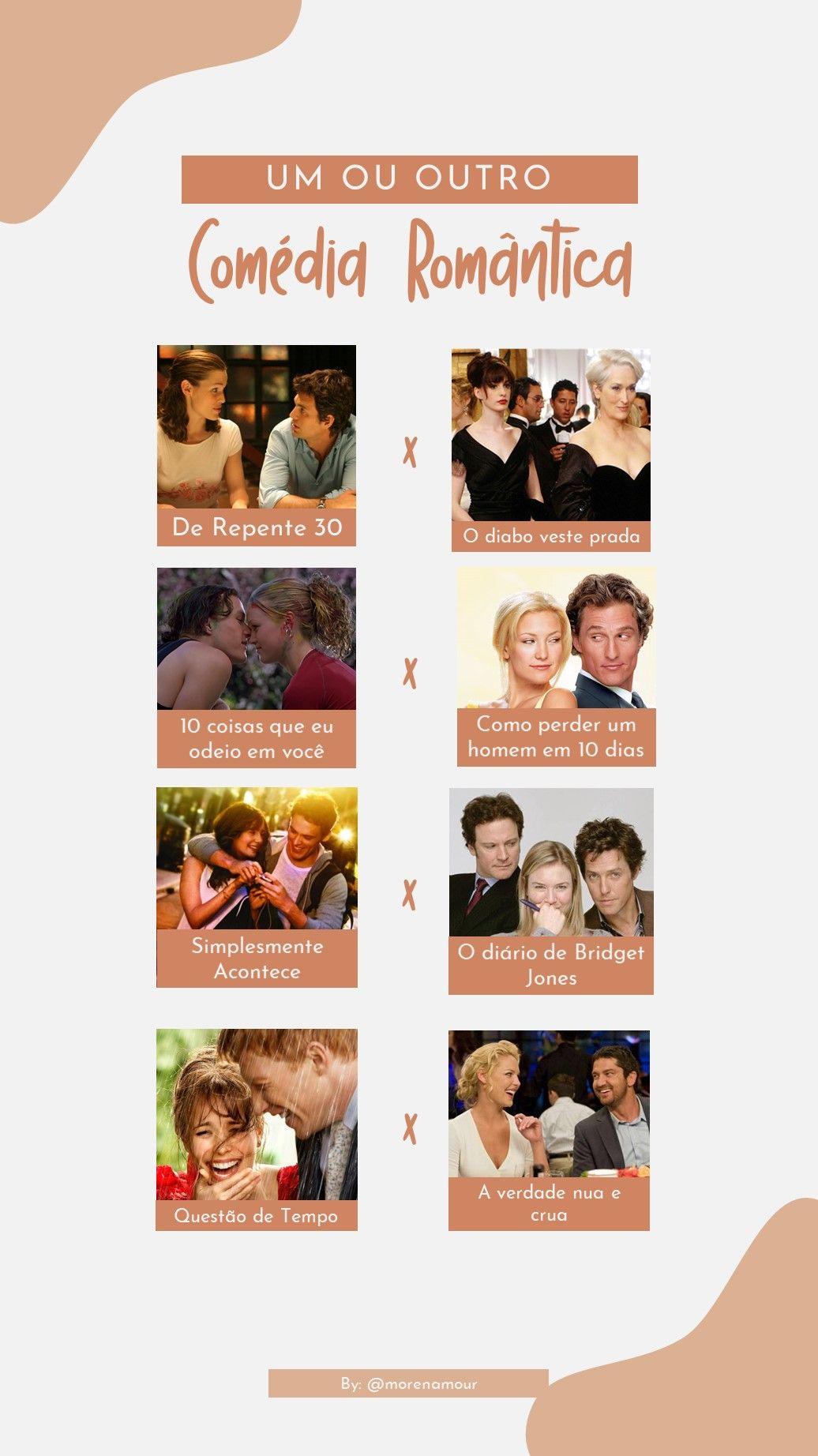 Template Um Ou Outro Comedia Romantica Comedia Romantica De