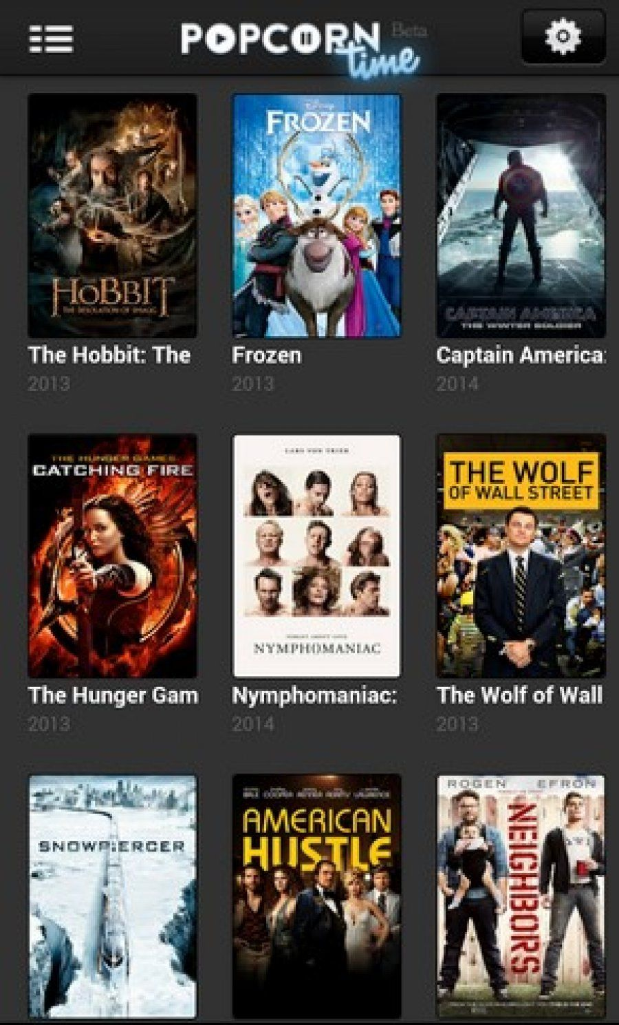 Requirements 2.3+ Overview Popcorn Time Application