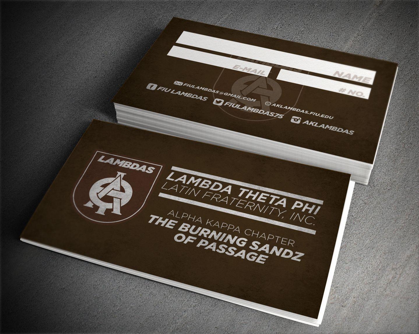 Lambda theta phi recruitment business cards greeks nphc lambda theta phi recruitment business cards colourmoves