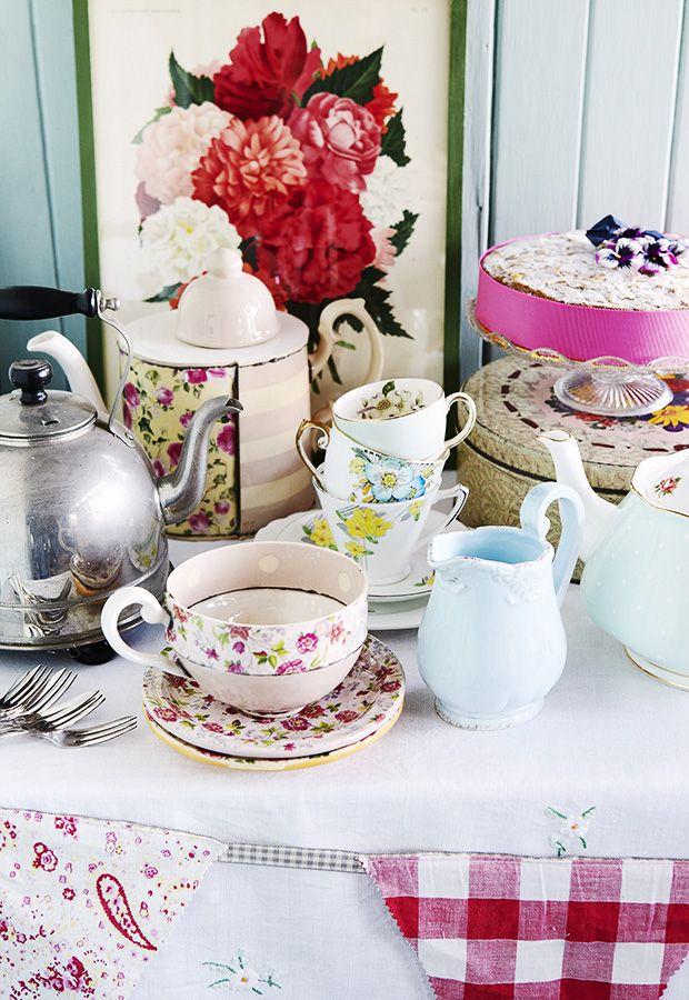 Table Setting For Afternoon Tea & Tea Table Setting | Step 1 \\u2013 ...