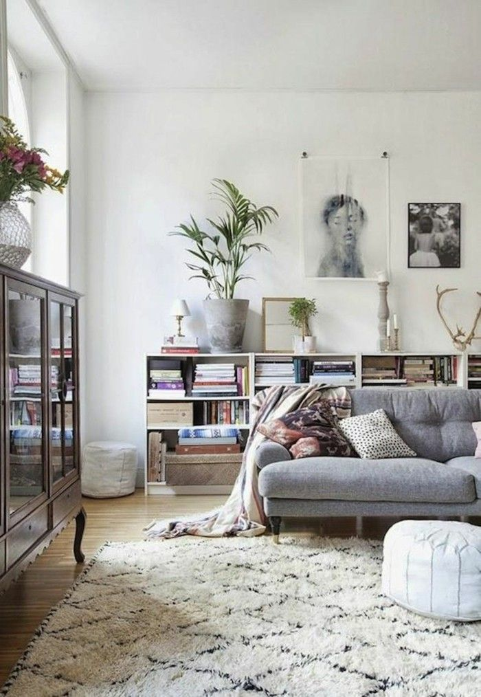 Hellgraues Sofa marokkanische teppiche skandinavisches flair hellgraues sofa diy