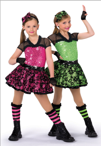 Stage gear dance costumes
