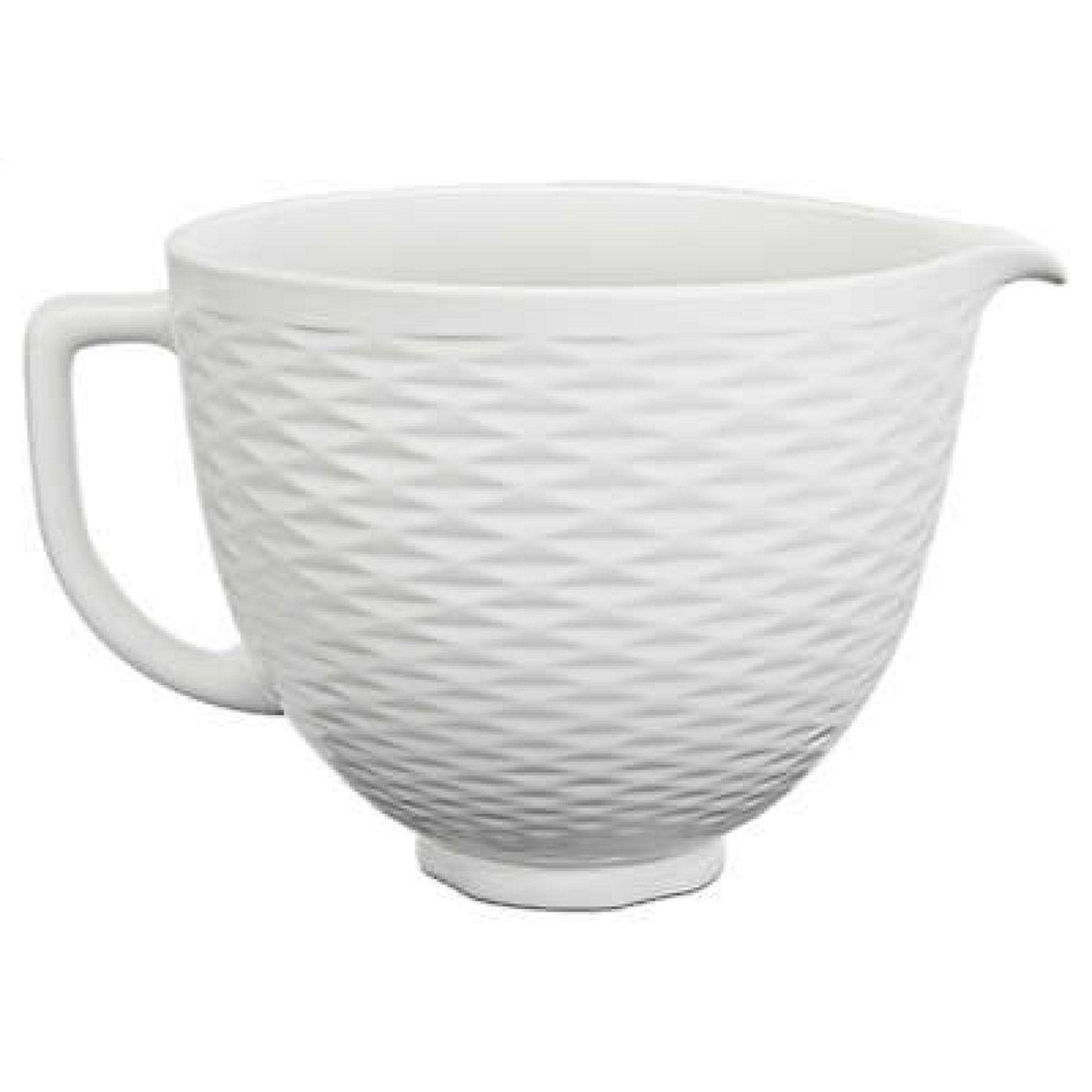 Kitchenaid 5 quart ceramic bowl white ceramic bowls