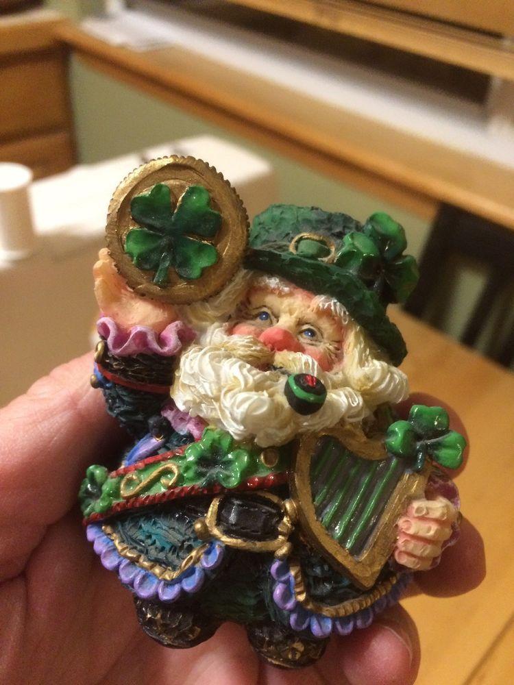 Crinkle Claus Irish Lucky Crinkle eBay Crinkles, Santa
