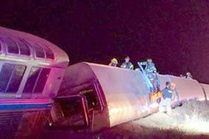 Another Amtrak Accident Derailment Occurs Less Then A Year After 6 Cars Derailed In Philadelphia. yourohiolegalhelp.com