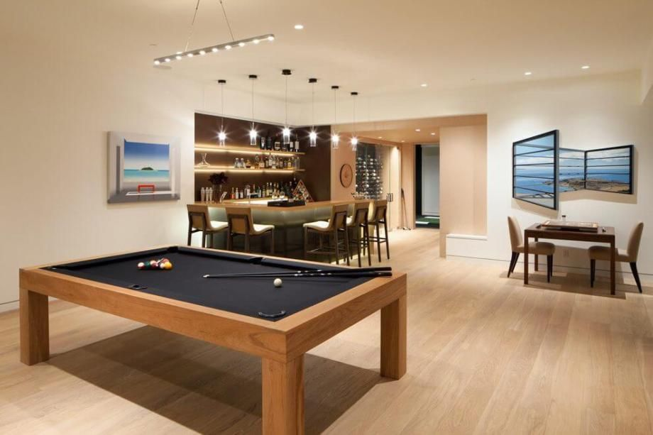 Small Rec Room Bar Ideas Pool Table Room Small Pool Table Rec Room