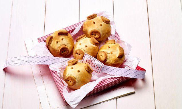Frühstücks-Schweinchen