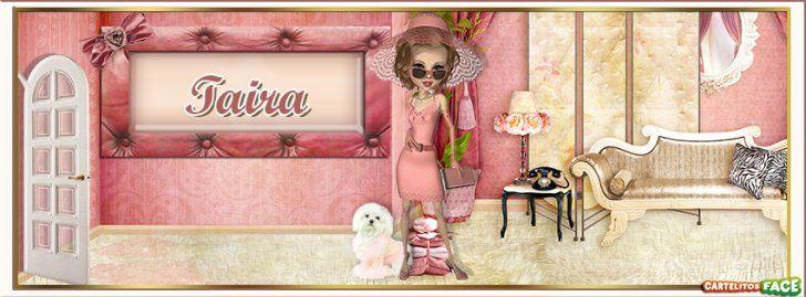Taira - Portadas con nombres para Facebook