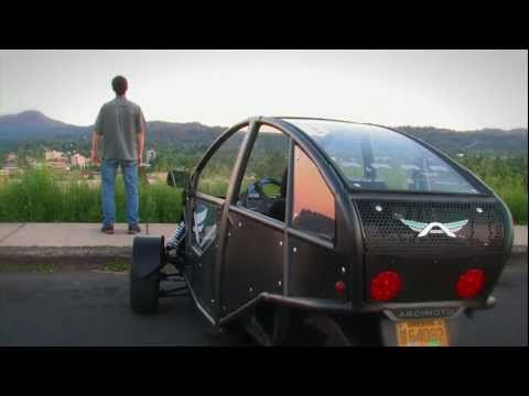 One Of The Most Awesome Electric Cars Arcimoto Generation 4 You