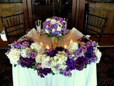 Sweetheart Table vs Head Table : wedding decor reception ...