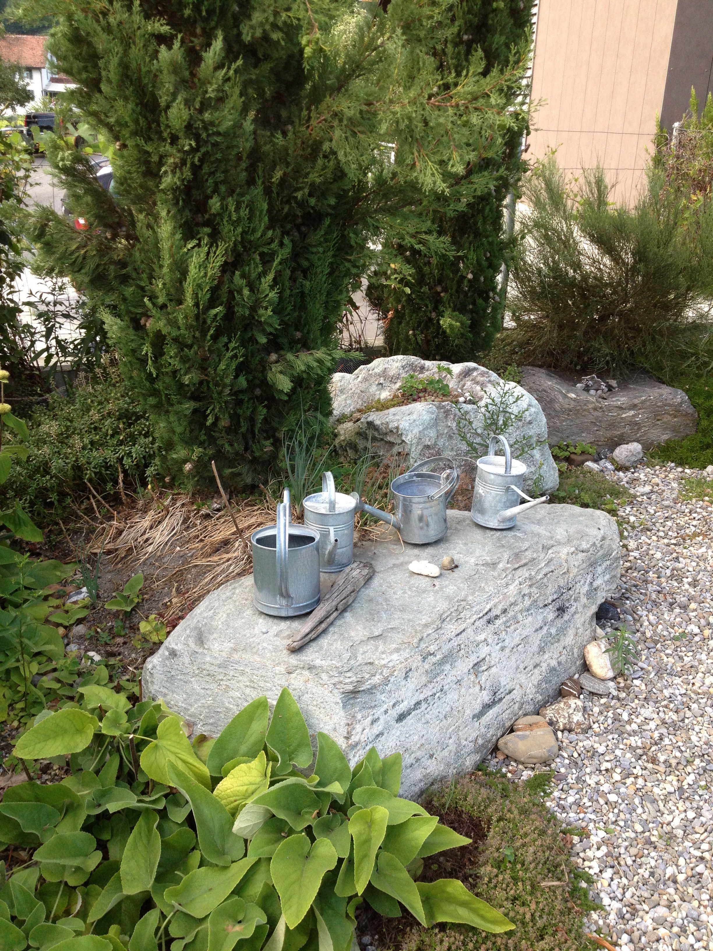 Garten meiner Schwester in Fläsch GR