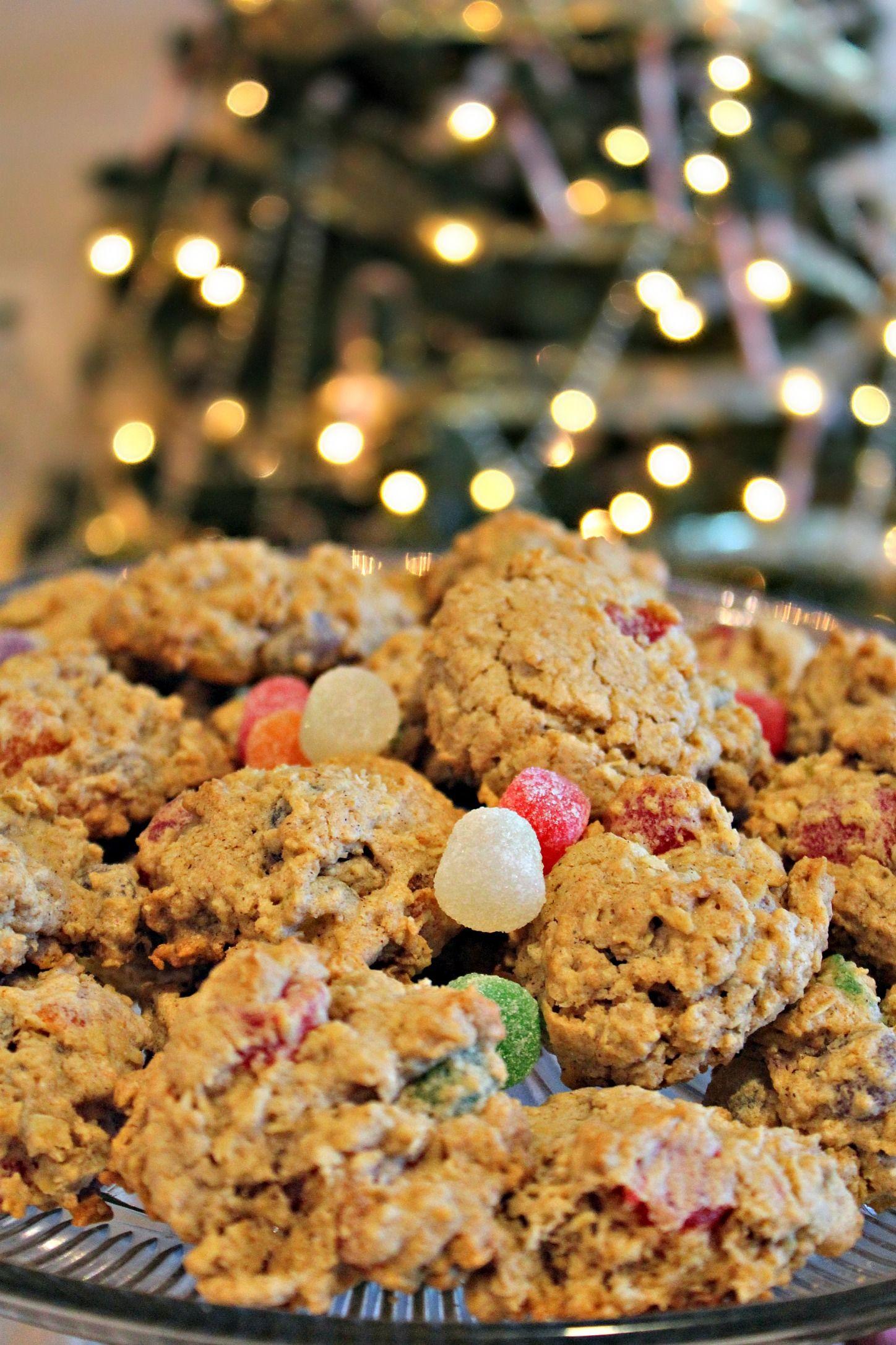 Grandpa\'s Oatmeal Gumdrop Cookies PREP TIME: 12 minutes COOK TIME ...
