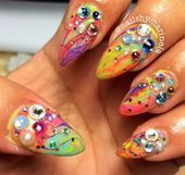 Photo of Retro by Mnelaaa from Nail Art Gallery