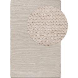 Photo of benuta Wollteppich Uno Cream 200×300 cm – Naturfaserteppich aus Wolle benuta