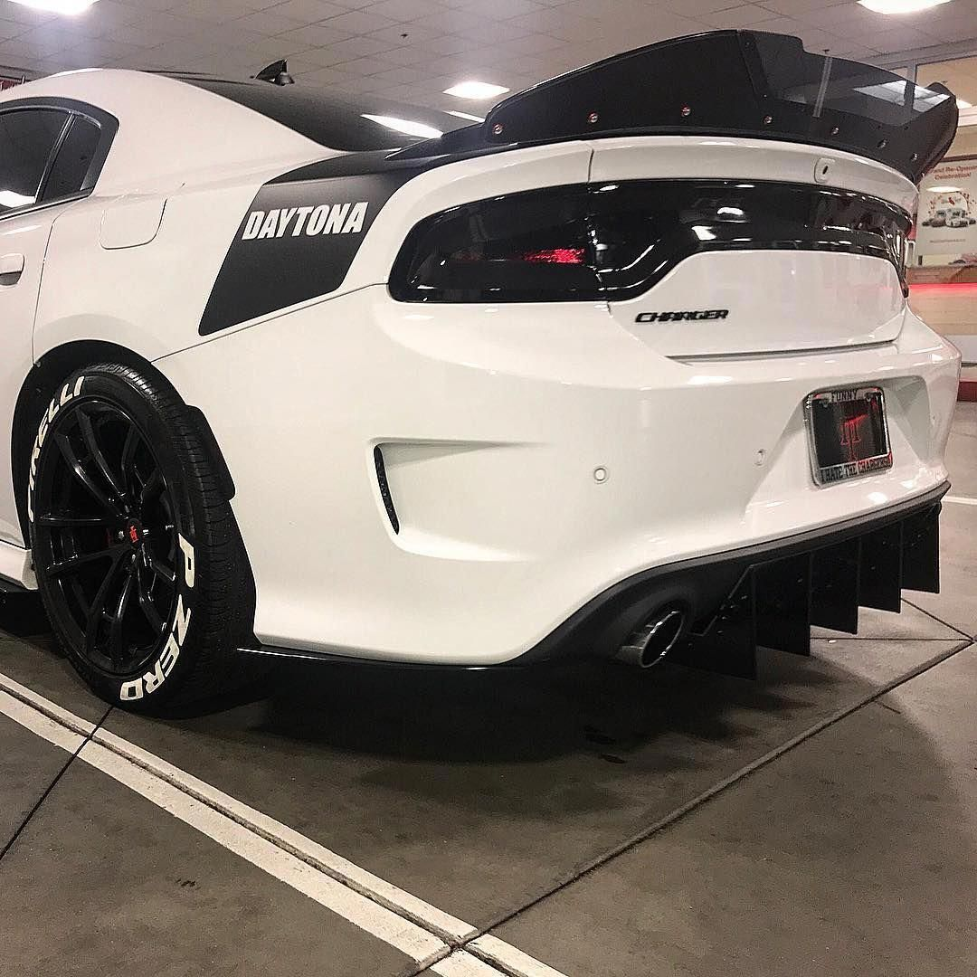 i love that spoiler and the white lettering tires dodgechargerclassiccars dodge charger dodge charger hellcat dodge charger daytona dodge charger dodge charger hellcat