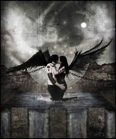 Lisetana La Dama Eterna Imagenes De Hadas Goticas Angel Caido Arte Fantasia Gotica