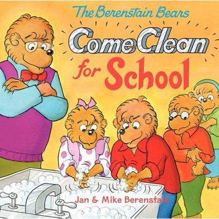 Photo of Berenstain Bears (8×8): Berenstain Bears Come Clean for School (Hardcover) – Walmart.com