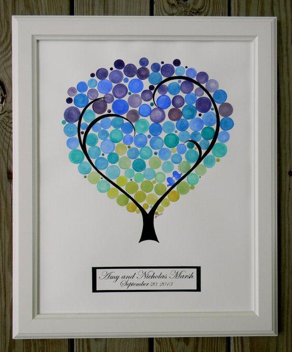 Wedding Guest Book Alternative. Wedding Tree. by PrettyProposal